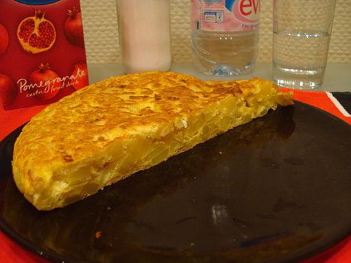 """La tortilla de patatas también se puede comer """"en paralelo"""" (foto Ricardo Martins)"""