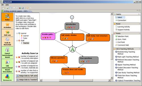 Ventana principal de OpenGLM