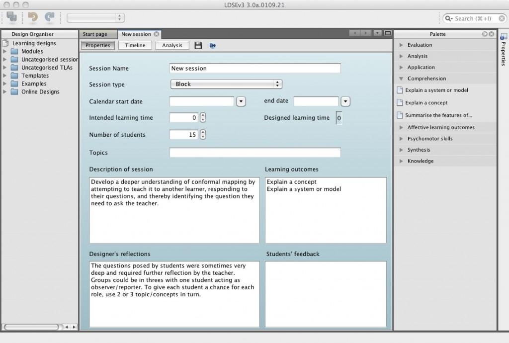 Captura de pantalla de LDSE