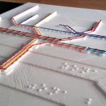 ApS: Diseñando planos de metro táctiles en la FP Básica